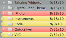 Crystal Black Theme: Finder labels solved by forcing black text