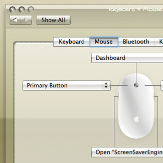 Crystal Clear System Preferences