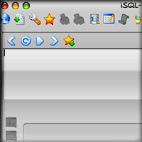 iSQL Main Window