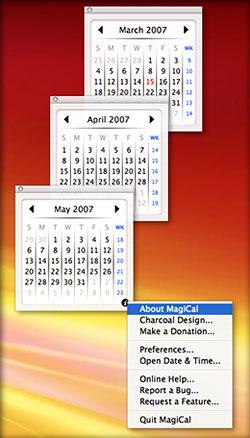 MagiCal lets you tear Calendars Off the Menubar