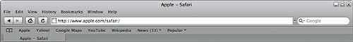 Safari's Toolbar